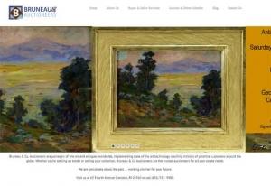 Bruneau and Company website designed by Cranston ri web designer stant design
